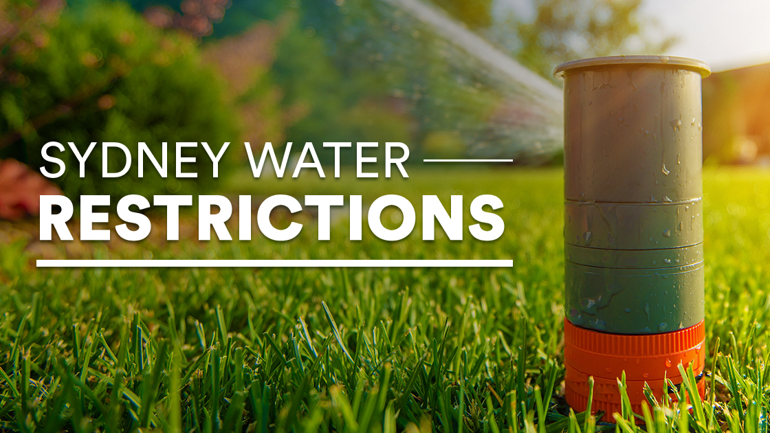 Sydney water restrictions